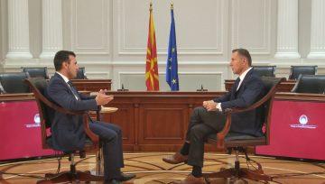 Interview of FYROM Prime Minister Zoran Zaev