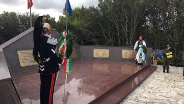 Italian President Sergio Matarrella visits the island of Cephalonia